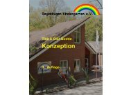 Konzeption - Regenbogen Kindergarten e.V