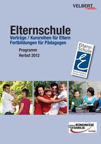 Elternschule - Stadt Velbert