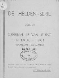 DE HELDEN-SERIE - the Aceh Books website