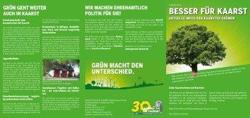 Aktuelle Infos aus Kaarst. (pdf, 284 KB) - BÜNDNIS 90/DIE ...