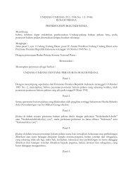 UNDANG-UNDANG (UU) 1946 No. 1 (1/1946) HUKUM PIDANA ...