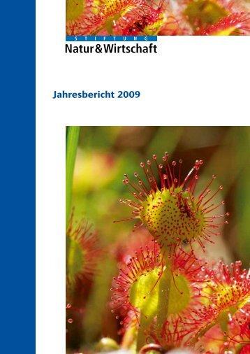 Jahresbericht 2009 - Nature & Economie