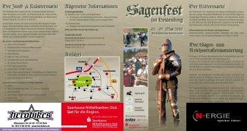 Sagenfest - Gemeinde Kammerstein