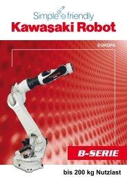 zum Produktkatalog B-Serie - Kawasaki Robotics