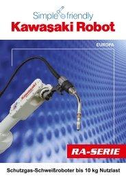 Produktkatalog RA-Serie - Kawasaki Robotics