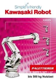 PALETTIERER - Kawasaki Robotics