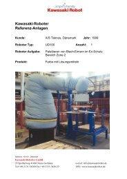 Kawasaki-Roboter Referenz-Anlagen - Kawasaki Robotics
