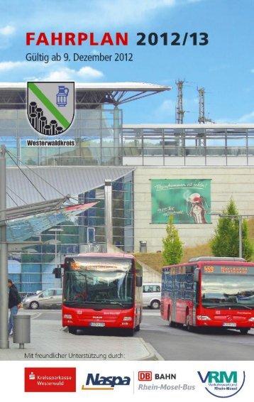 aktuellen Fahrplan - Westerwald-ÖPNV