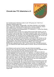 Chronik des TTC Ailertchen eV