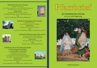 Pfarrbrief - Katholische Pfarrei St. Elisabeth