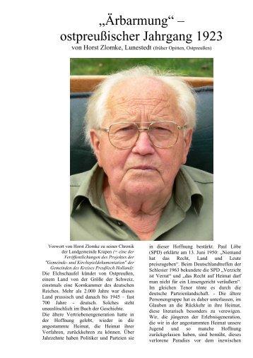 Aerbarmung (Horst Zlomke) - Königsblumenau