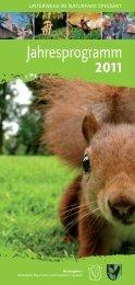 Jahresprogramm 2011 - Naturpark Hessischer Spessart