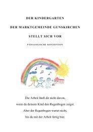 Kindergartens der Marktgemeinde Gunskirchen