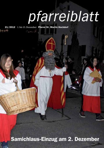 Das neue Pfarreiblatt ist da! - Pfarrei Hochdorf