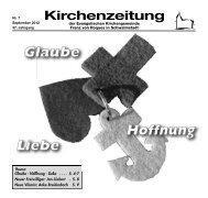 Kirchenzeitung 2-2010 - Evangelische Kirchengemeinde Franz von ...