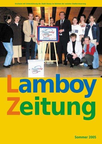 Sommer 2005 (pdf, 998 KB) - Evangelische Kreuzkirche Hanau