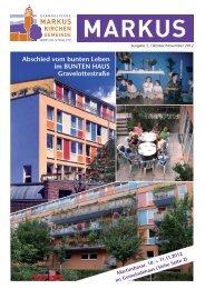 Abschied vom bunten Leben im BUNTEN HAUS Gravelottestraße