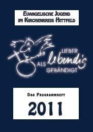 a s 2011 - Ev. Jugend im Kirchenkreis Hittfeld
