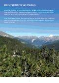 Teilprojekt Schule: Biosfera lernend erleben - Biosfera Val Müstair - Page 3