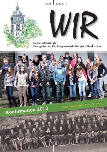 Juni 2012 - Evangelische Kirchengemeinde Bergisch Neukirchen