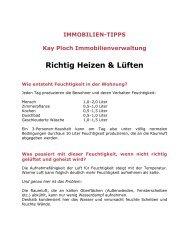 Richtig Heizen & Lüften - Kay Ploch