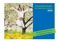 Umweltkalender 2010 - Kamp-Lintfort