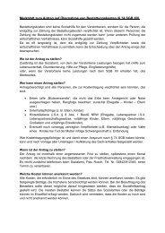 Merkblatt Bestattungskosten - Kamp-Lintfort