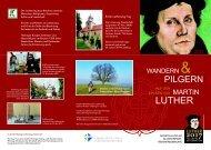 2. Lutherwegflyer - Kirche und Tourismus