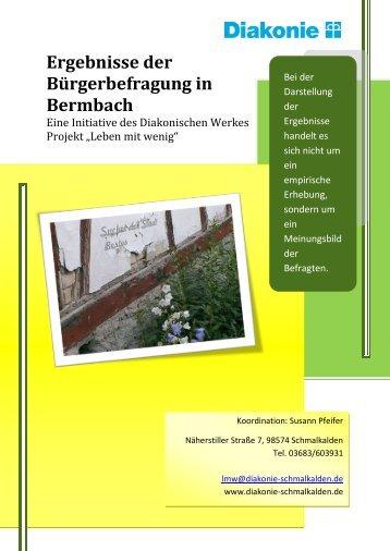 Bermbach - Diakonie Schmalkalden