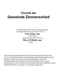 Chronik der Gemeinde Zimmerschied als PDF - Verbandsgemeinde ...