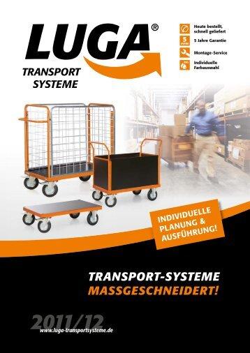 Produktkatalog 2011/12 - LUGA Transportsysteme