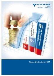 Geschäftsbericht 2011 - Volksbank Tirol Innsbruck-Schwaz AG