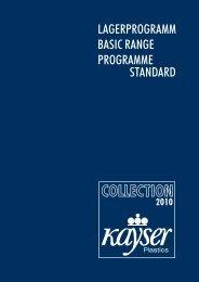 Lagerprogramm - Kayser Plastics
