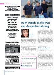 IHK Magazin Wirtschaft, Ausgabe 10/2008 - H.P. Kaysser