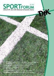Zeitschrift des DJK-Diözesanverbandes Mainz - Bistum Mainz