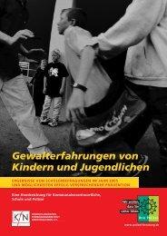 Gewalterfahrungen von Kindern und Jugendlichen - Polizei Baden ...