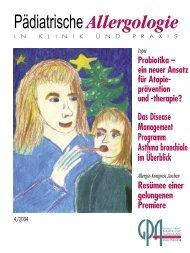 Probiotika - Gesellschaft für Pädiatrische Allergologie und ...