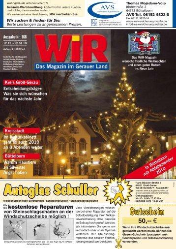 WIR 168 - Das WIR-Magazin im Gerauer Land