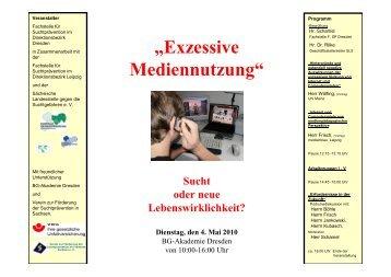 Tagungsdokumentation FT 4. Mai 2010 Exzessiver Medienkonsum1 ...