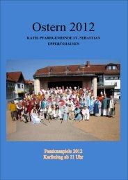 Ostern 2012 - St. Sebastian Eppertshausen