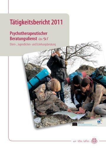 Tätigkeitsbericht 2011 - Sozialdienst katholischer Frauen eV