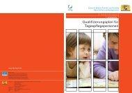 Qualifizierungsplan für Tagespflegepersonen - Bayerisches ...