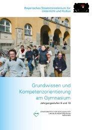 Grundwissen und Kompetenzorientierung am ... - GCE Bayreuth