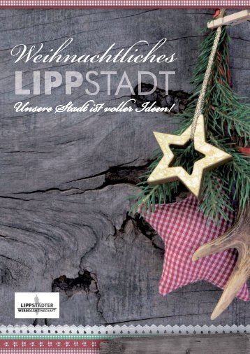 Weihnachten! - Werbegemeinschaft Lippstadt