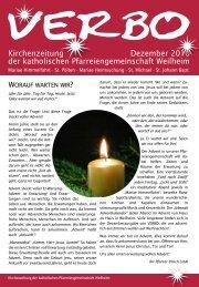 Kirchenzeitung Dezember 2010 der katholischen ...