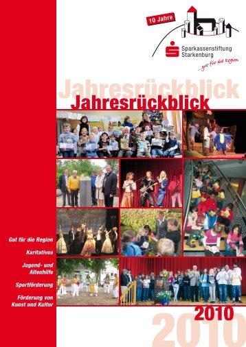 Jahresrückblick - Sparkasse Starkenburg