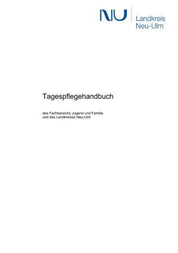 Handbuch für Tagespflege - Landkreis Neu-Ulm