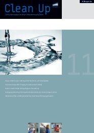 CleanUp Ausgabe 2011 - Breyer Gebäudereinigung GmbH