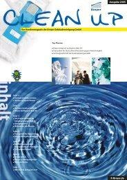 CleanUp Ausgabe 2005 - Breyer Gebäudereinigung GmbH