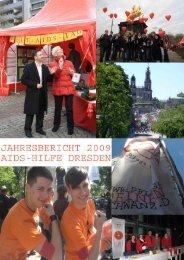 Bericht 2009_komplett - Aids-Hilfe Dresden eV